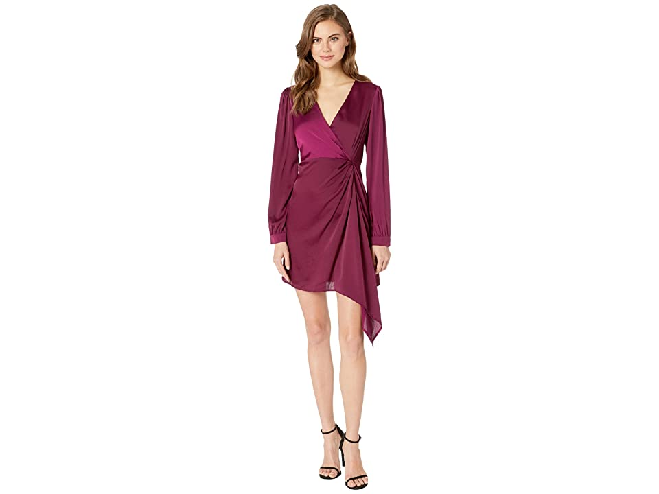 ASTR the Label Flash Dress (Grape) Women