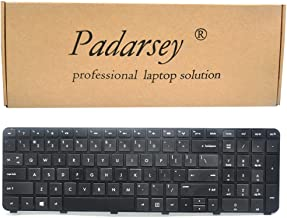Padarsey Replacement Keyboard Without Frame for HP Envy dv7-7000 dv7-7100 dv7-7200 dv7-7300 dv7-7323cl dv7-7270ca Series Black US Layout (Not fit for dv7-1000 dv7-4000 dv7-6000 Series Laptop!!)