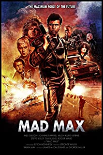 bribase shop Mad Max (1979) Poster 36 inch x 24 inch