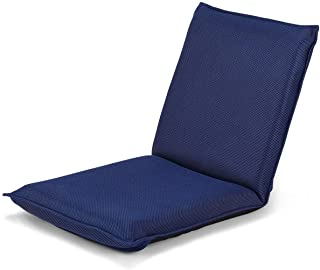 Giantex Adjustable Mesh Floor Sofa Chair, 6-Position Multiangle Padded Floor Chair, Cushioned Back Support Versatile, Video Game Chairs for Meditation Seminars Reading TV Watching or Gaming