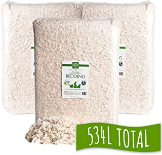 Small Pet Select Unbleached White Paper Bedding