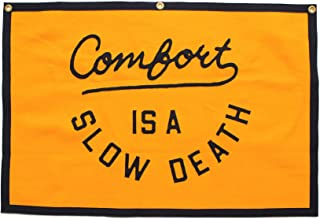 Oxford Pennant Comfort is a Slow Death Championship Banner Original