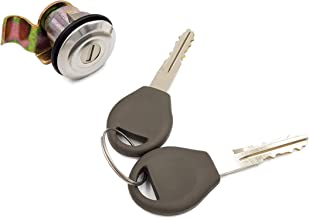 KommonStore - Gas Fuel Filler Lid Cylinder Lock with Key Set 1998-2004 Nissan D22 Frontier Hardbody Navara King Cab NP300 Pickup Truck