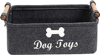 Morezi Panier de rangement en feutre pour jouets et jouets pour chien - Idéal pour organiser les jouets, couvertures, lais...