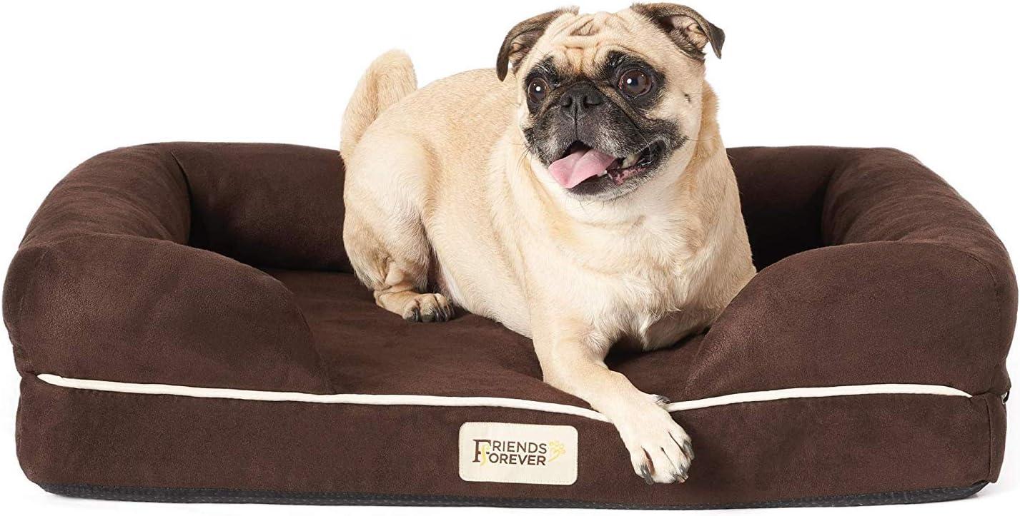 19. Orthopedic Dog Bed Lounge