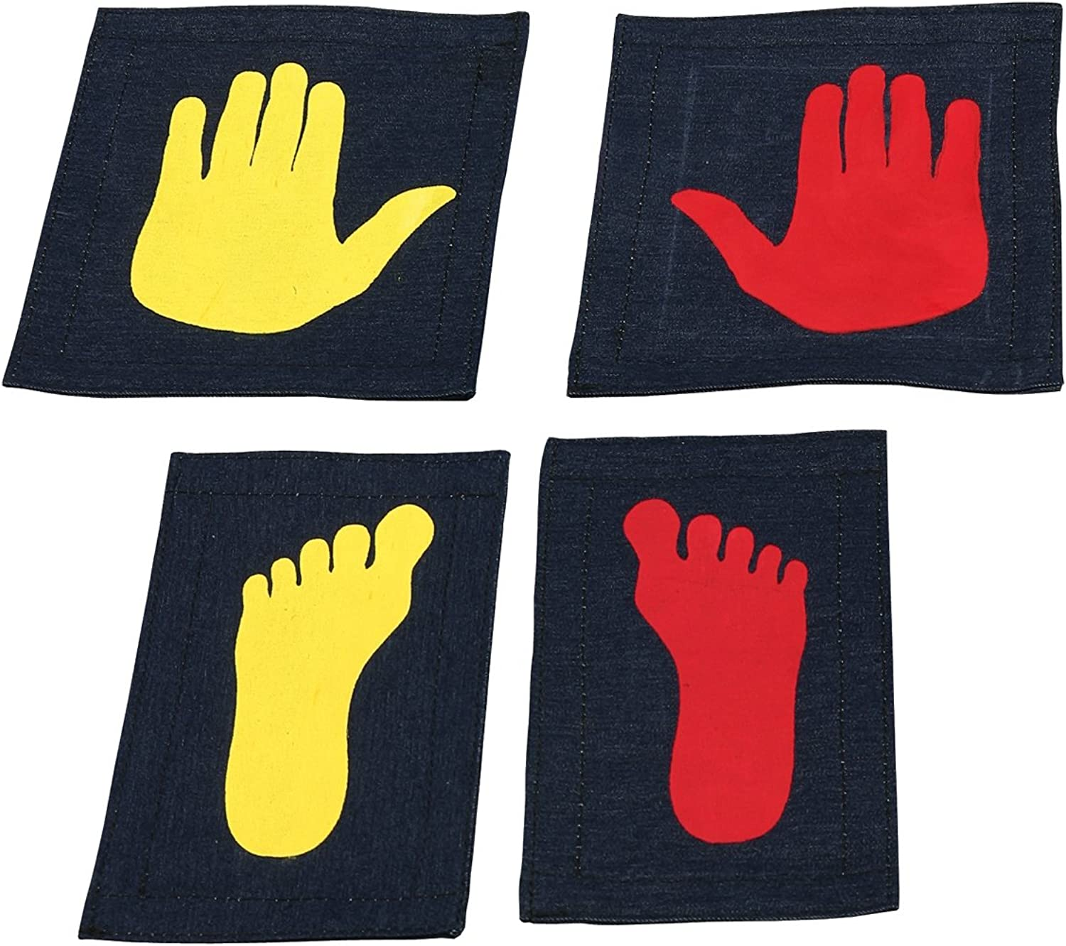 Tumbl Trak Girl's Gymnast Hands and Feet Placement Mat (5Piece)