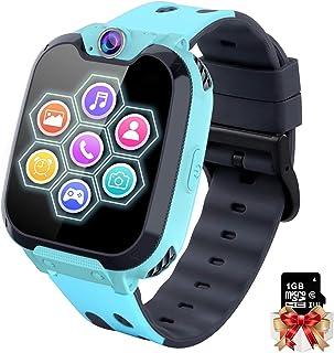 Reloj Inteligente Niño con Mp3 Musica - 7 Juegos Smartwatch Niños, Reloj Inteligente Niña, Relojes Smart Realiza Llamadas ...