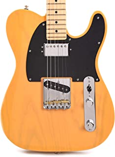 Fender American Performer Telecaster Hum Ash Butterscotch Blonde w/Black Phenolic Pickguard (CME Exclusive)