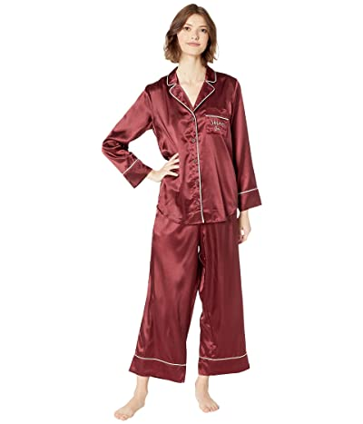 L*Space Luna Pajama Set (Sangria) Women