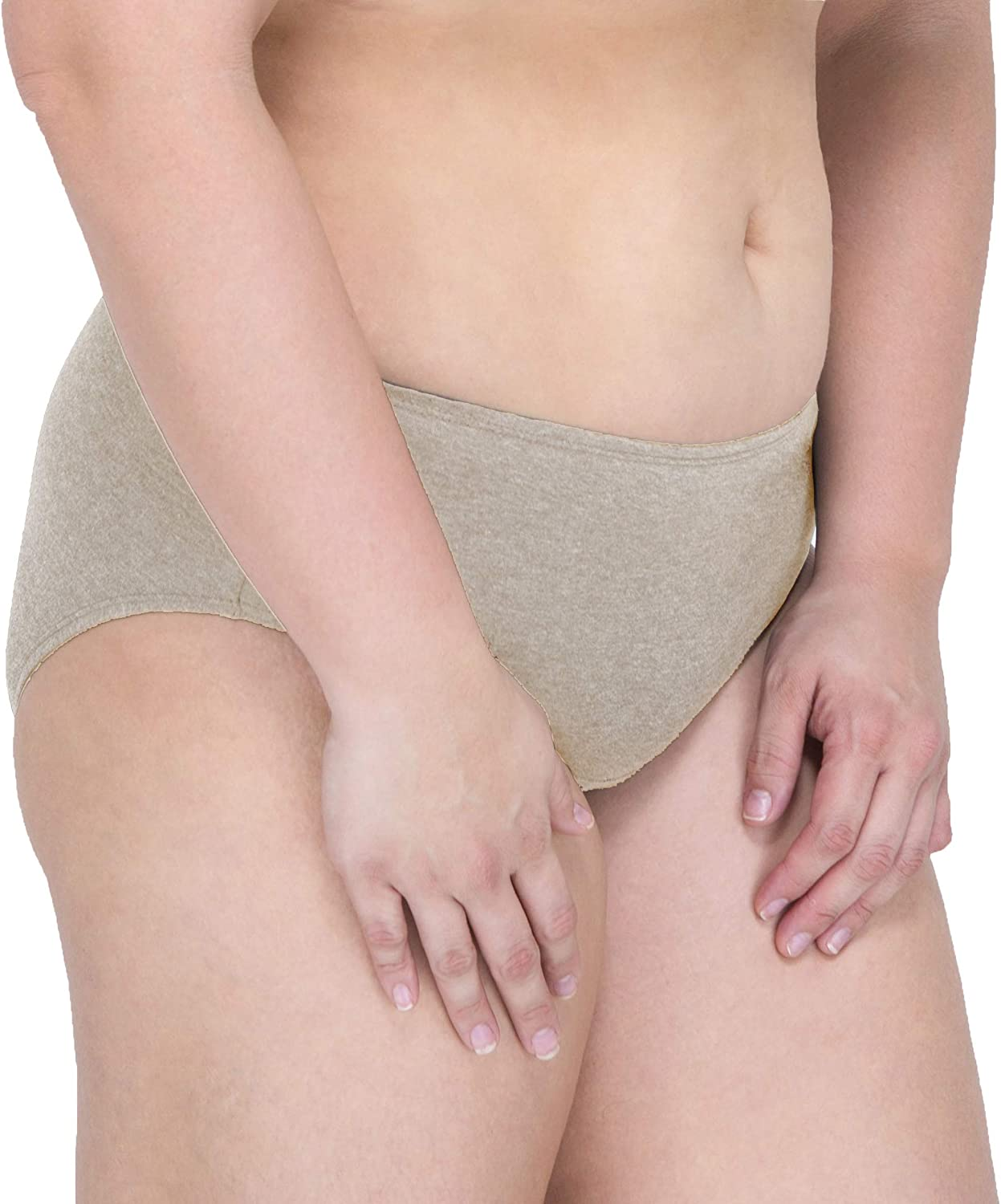 Cottonique Bombing free shipping Women's Latex-Free Waist Brief 100% from Made Organic New product
