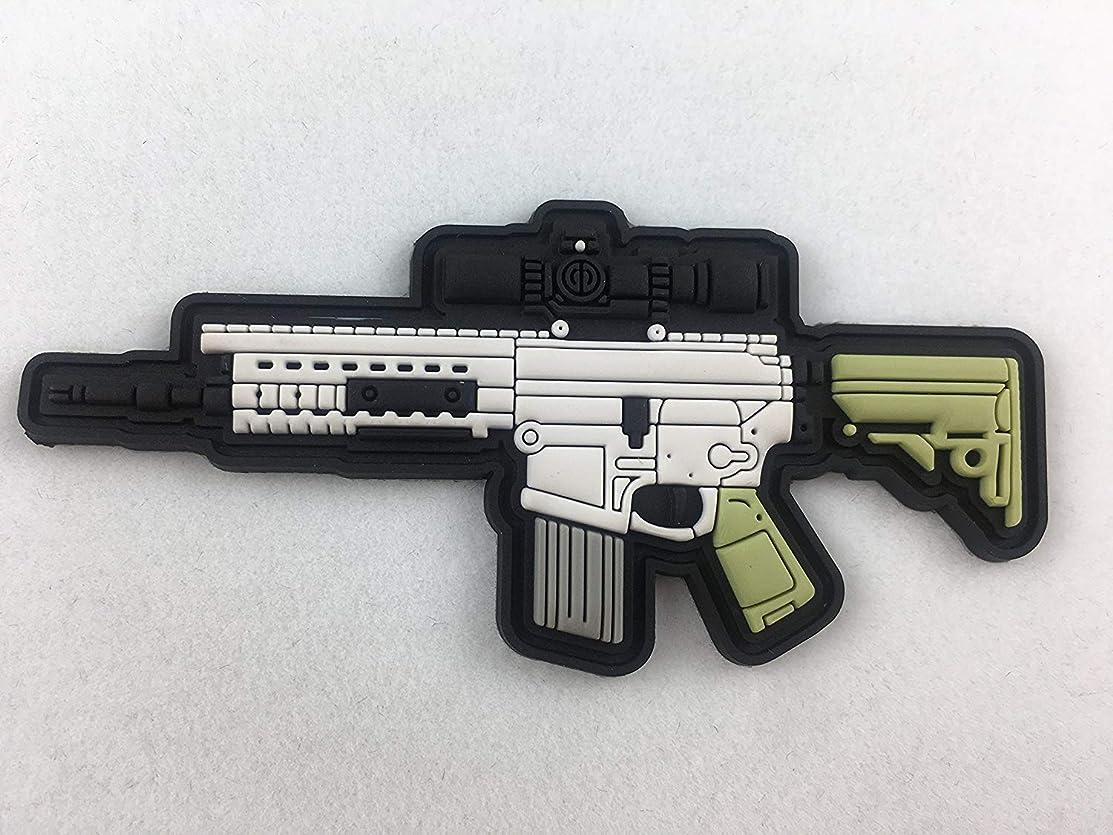 SR25 AR15 Rifle PVC Morale Patch