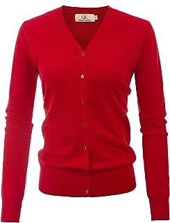 GRACE KARIN Women's Elegant Open Front Cardigan Sweater Long Sleeve Hollow Out Knit Outwear