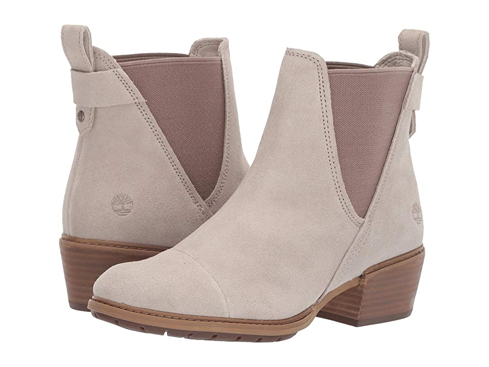 Timberland Sutherlin Bay Double Gore Chelsea (Light Taupe Suede) Women