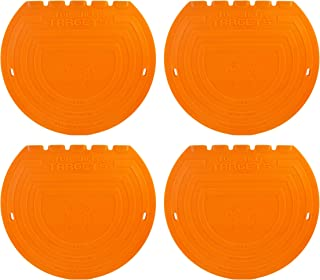 Top Shelf Targets Sniper 8-inch Magnetic Shooting Targets (4 Pack Set) for Hockey and Lacrosse Excellent Practice Tool & T...