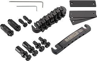 Full Contact Hardware Tune-O-Matic Guitar Bridge, Black