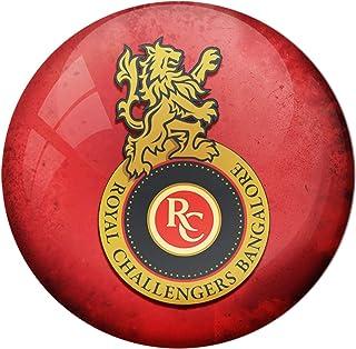 AVI Fridge Magnet Red Royal Challengers Bangalore Small Size 44mm Metal MR8000431