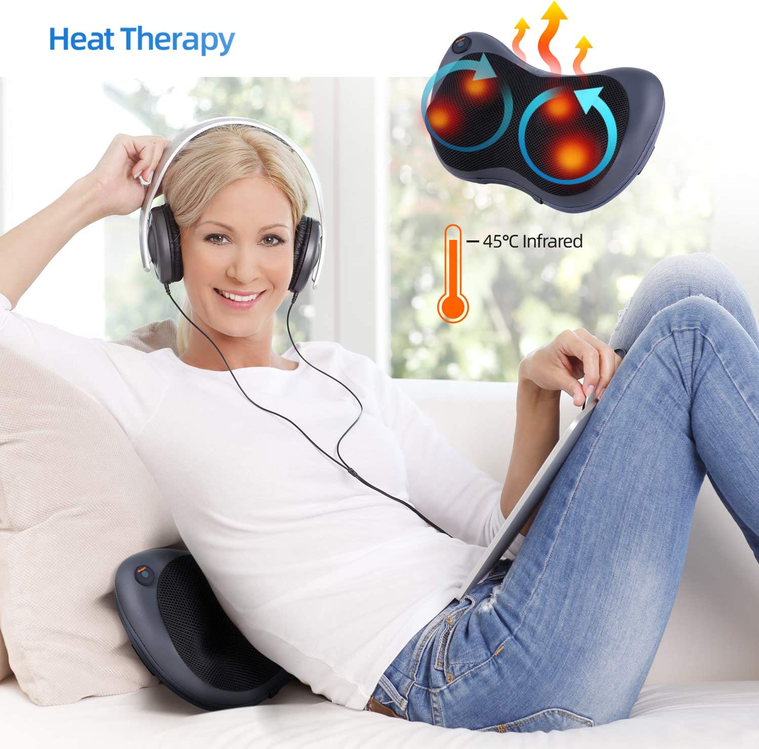 All New Electric Pillow Massager Relaxing and Healing
