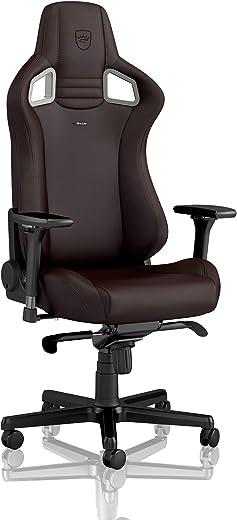 noblechairs Epic Gaming Stuhl – Bürostuhl – Schreibtischstuhl – Hybrid-Kunstleder – Inklusive Kissen – Java Edition