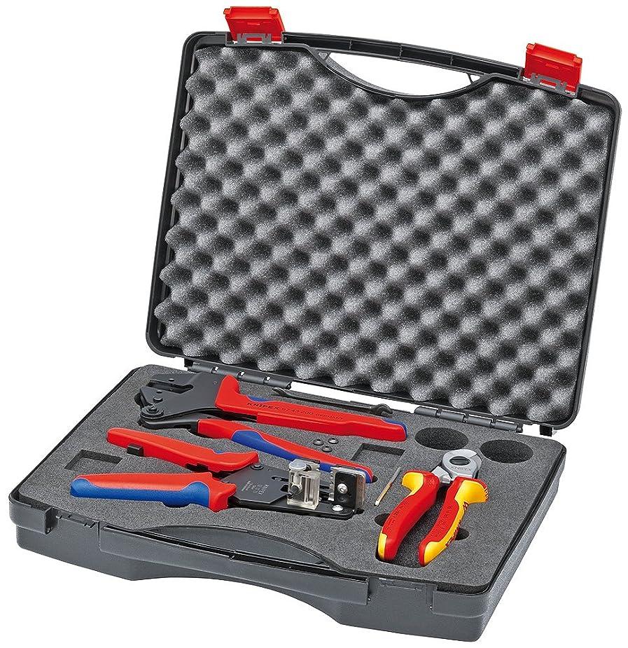 教え不定確保するクニペックス (KNIPEX) 工具セット KNIPEX 9791-01 太陽光発電用工具セット 9791-01