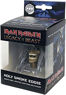 Iron Maiden: Legacy of the Beast Holy Smoke Eddie Keychain