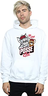 Tom And Jerry Men's Posse Cat Hoodie