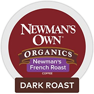 Newman's Own Organics French Keurig Single-Serve K-Cup Pods, Dark Roast Coffee (Pack of 24)