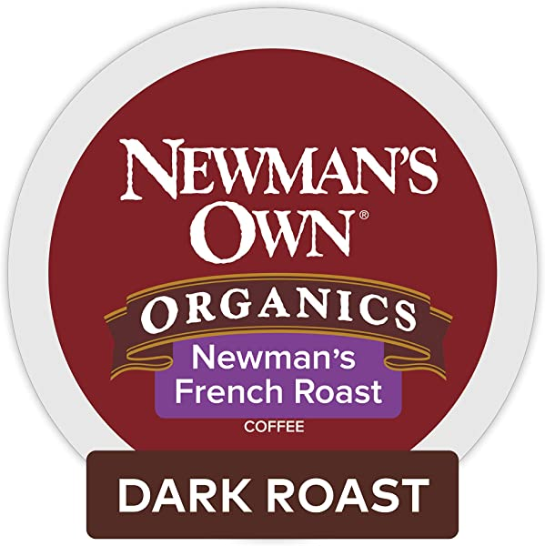Newman S Own Organics French Roast Keurig K Cup Pods Dark Roast Coffee 96 Count