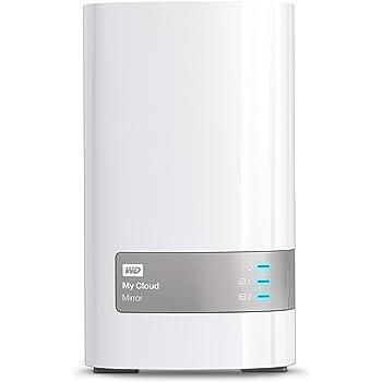 WD 4TB My Cloud Mirror Personal Network Attached Storage - NAS - WDBWVZ0040JWT-NESN,White