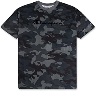 Champion Big and Tall Mens Camo Logo T Shirt