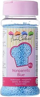 comprar comparacion FunCakes Sprinkles Decoraciones NonPareils de Color Azul para Decorar Tartas, Cupcakes, Galletas, Helados y otros Dulces, ...