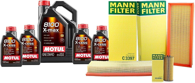 9L 8100 depot X-MAX 0W40 Filter Motor Change Compatible Oil kit Air Popular standard wi