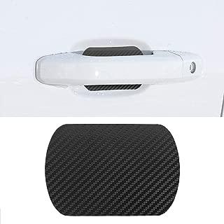 Door Handle Trim Magnetic Door Cup Paint Scratch Protector Cover Accessories For Chevy Chevrolet Silverado 1500 2014-2018(4 Pcs)
