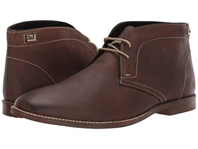 Ben Sherman Gaston Chukka (Dark Brown Leather) Men