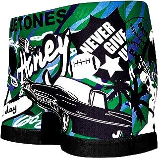 BETONES (ビトーンズ) メンズ ボクサーパンツ ELVI GREEN dwearsステッカー入り ローライズ アンダーウェア 無地 ブランド 男性 下着 誕生日 プレゼント