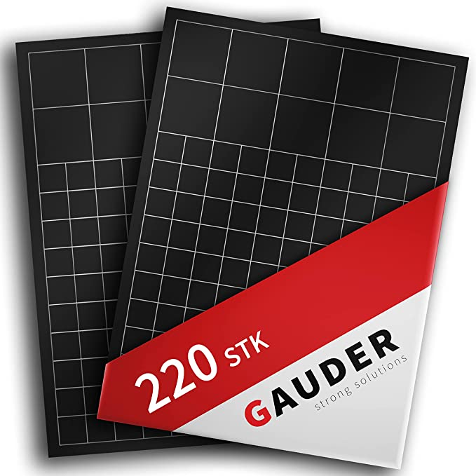 694 opinioni per GAUDER Calamite Quadrate Autoadesive   Magneti Adesivi Flessibili   Adesivi