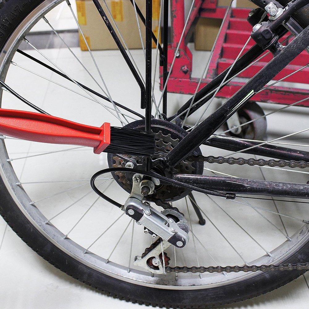 Cepillo de Limpieza Cadena de Bicicleta,GZQES,Limpiador para ...