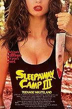73138 Sleepaway Camp III: Teenage Wasteland 1989 Decor Wall 32x24 Poster Print