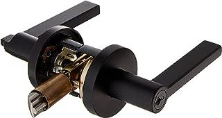 kwikset 156HFLRDT-514S Door Levers, Iron Black