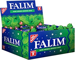 Falim 100 Piece Mint Flavoured Fresh Sugar-Free Chewing Gum, Individually wrapped