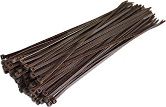 1000x UL Approved 4.8 x 200mm Purple Nylon Cable Ties