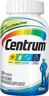 Centrum Multivitamin for Men, Multivitamin/Multimineral Supplement with Vitamin D3, B Vitamins and Antioxidants - 200 Count