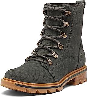 SOREL Women's Lennox Lace Rain Boot — Waterproof Leather Boots