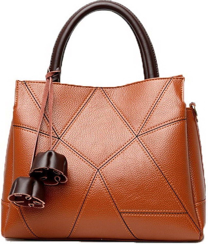 AllhqFashion Women's Shoulder Bags Shopping Casual Ornamented Pu Crossbody Bags,FBUBD180859