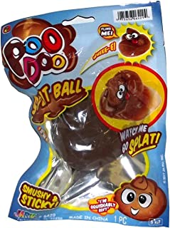 Poo Doo Ja-Ru Squishy Poo Splat Ball