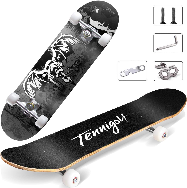 TENNIGOLF Skateboard for Beginners Cheap mail order sales Ranking TOP13 8