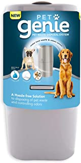 Pet Genie Ultimate Pet Waste Odor Control Pail for Dogs and Small Animals