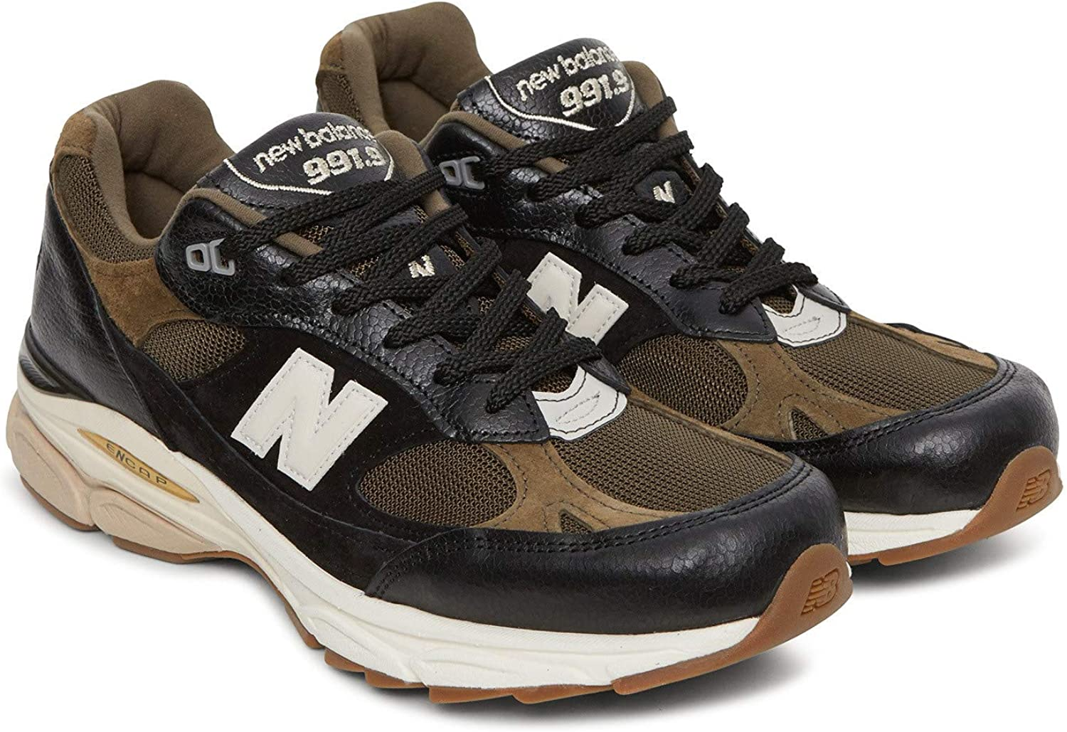 New Balance M9919 D Leather Textile Pu - cv schwarz, Gre 9.5(43)