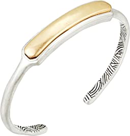 The Sak - Small Metal Inlay Cuff Bracelet