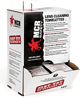 MCR Crews LCT Premoistened Lens Cleaning Towelettes (Box of 100)