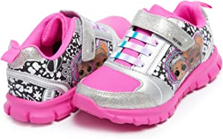 L.O.L. Surprise! Girl's Athletic Sneaker | Little Kid's Comfortable, Rubber Sole, Printed Shoes | Sizes 11-2